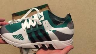 new product 81939 272cd Adidas EQT Support 93 PK Sneaker Unboxing