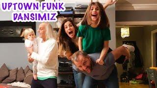Uptown Funk Dansımız | Bizim Aile Eğlenceli Çocuk Videoları