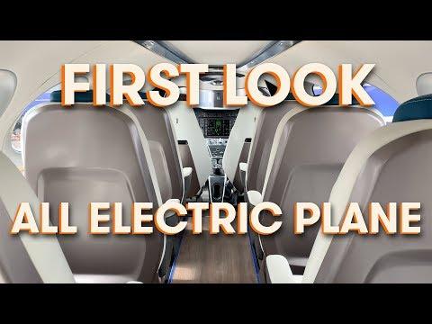 Izraelská firma Eviation představila plně elektrické dopravní letadlo s názvem Alice