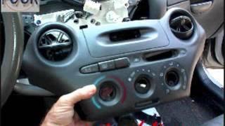 Toyota Echo Replacing Car Stereo