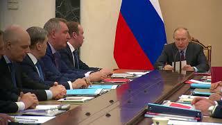 Заседание Комиссии повопросам военно-технического сотрудничества России синостранными государст...