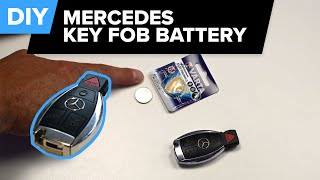 Mercedes Key Fob Battery Replacement EASY DIY - How To (1995-2018)