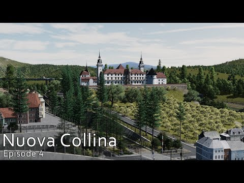 Cities Skylines: Nuova Collina - The first town and the hill castle #4