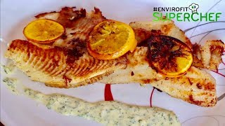 How to make pan fried fish with oranges   Chef Ali Mandhry