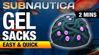 Where to find Gel Sacks | SUBNAUTICA