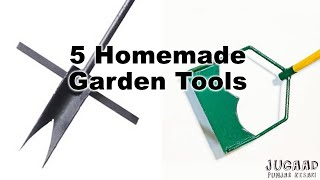 5 Homemade Garden Tools