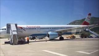 Austrian Air Flight Review: Airbus A321 Vienna to Dubrovnik Croatia