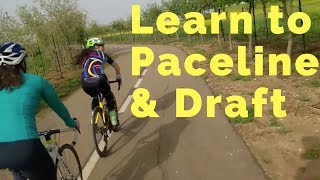 Cycling Tips: Part 1: Learning to Paceline & Draft- Road bicycle skills