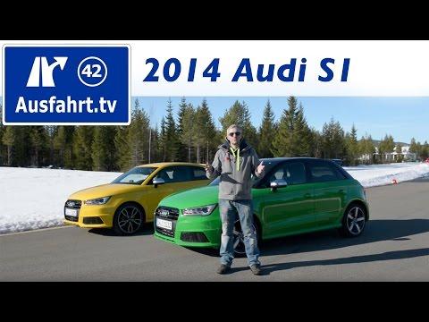 2014 Audi S1 Sportback - Fahrbericht / Review / Test / Probefahrt