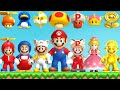 New Super Mario Bros Series All Power ups