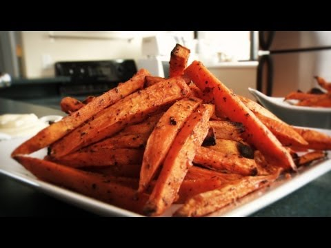 Video How to Make Delicious Sweet Potato Fries: Recipe