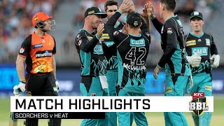 Mujeeb, Cutting lead Heat to win | KFC BBL|08