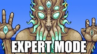 EXPERT MODE MOON LORD BOSS || Terraria 1.3
