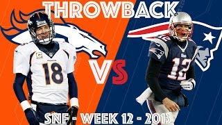 Broncos vs. Patriots (Wk 12, 2013) | Brady's 24-Point Comeback vs. Manning | NFL Classic Highlights