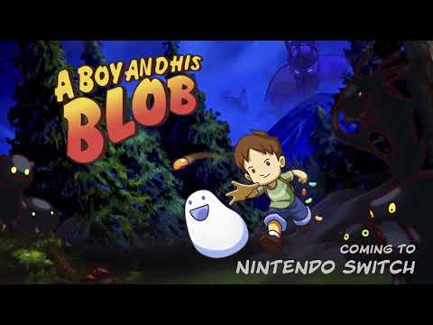 A Boy and his Blob : A Boy and his Blob