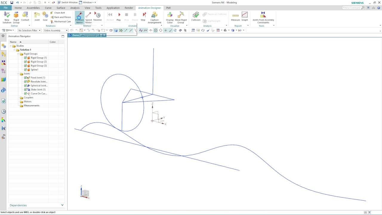 Vorschaubild: NX 12: Animation Designer