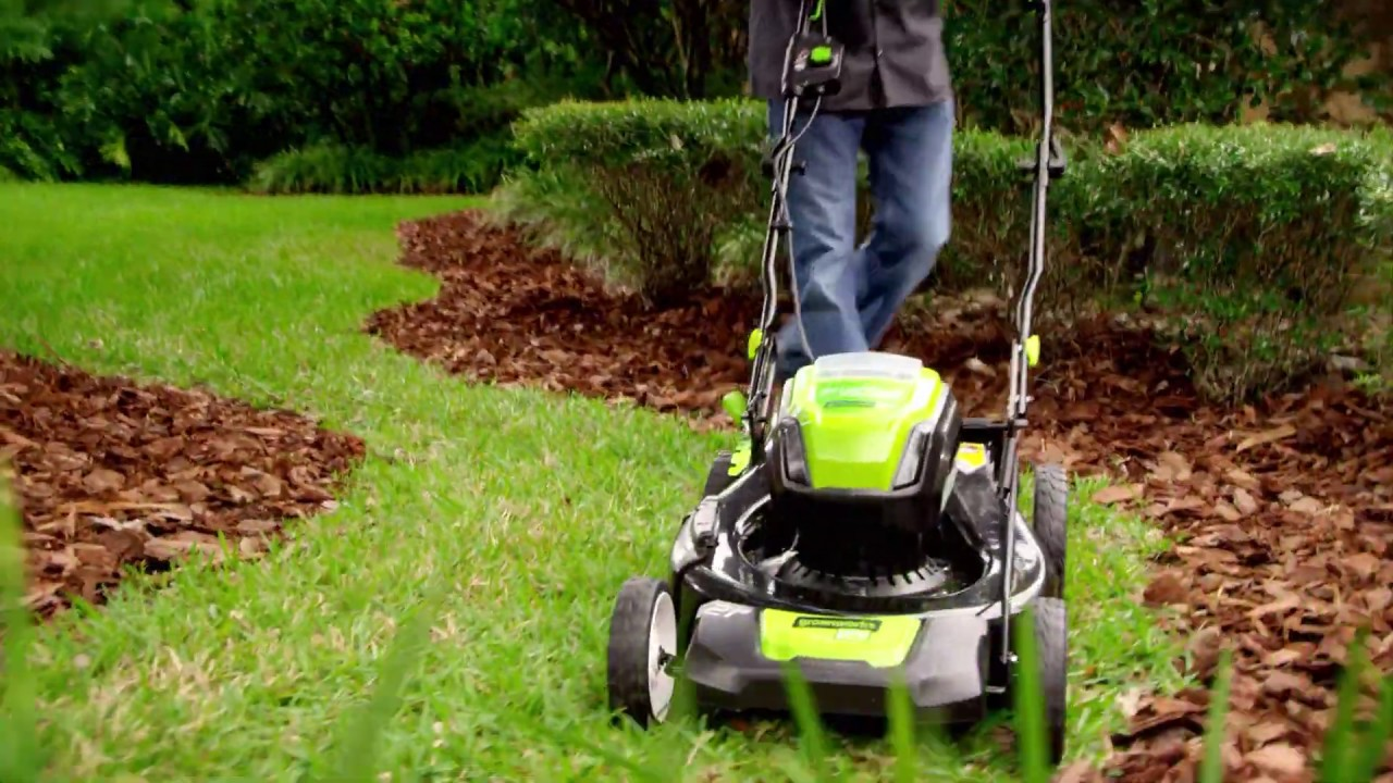 80V Cordless 21 inch Mower Overview