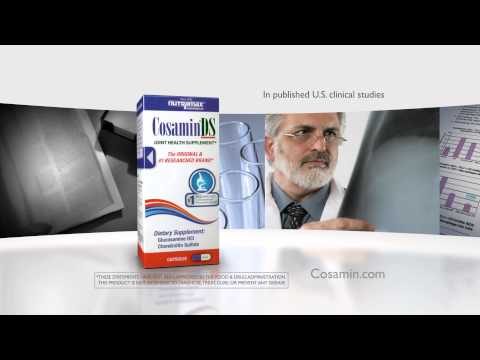 Cosamin DS for HUMANS (150 Tabs) Video