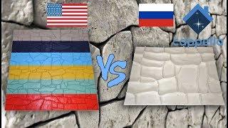 Обзор штамп - матриц под камень из Америки и России. Что купить? Штамп - матрица Cappella.