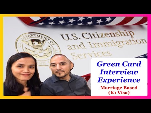 GREEN CARD INTERVIEW Experience | ADJUSTMENT OF STATUS (Marriage)
