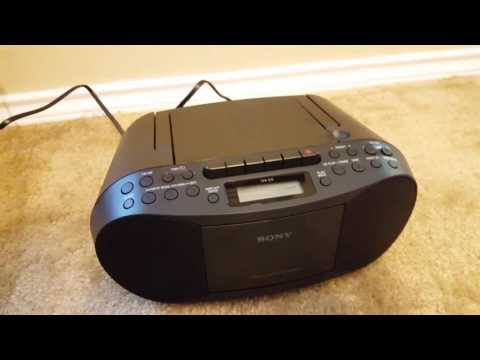 Sony Boombox CFD-S70