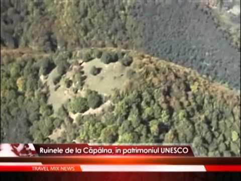 Ruinele de la Capalna, in patrimoniul UNESCO
