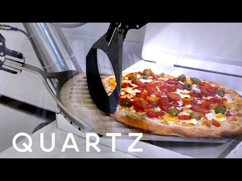 A French Robot That Makes 100's of Pizzas an Hour