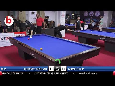 TUNCAY ARSLAN & AHMET ALP Bilardo Maçı - SAKARYA ÖZPAŞ CUP 2019-3.TUR
