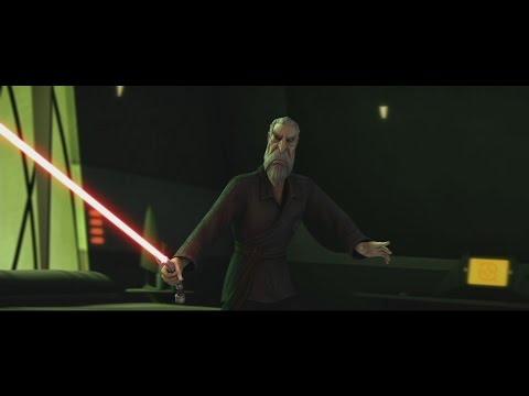 Star Wars: The Clone Wars - Nightsisters vs Count Dooku [1080p]