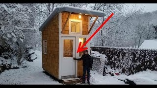 13 летний Мальчик Построил Собственный Мини Дом в саду! Ты разинешь рот, когда заглянешь внутрь!