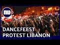 Libanezen houden dancefeest als protest tegen overheidsplannen   NU nl