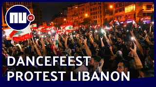 Libanezen houden dancefeest als protest tegen overheidsplannen | NU nl