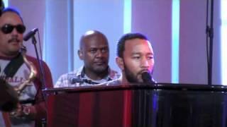 "John Legend & The Roots ""Little Ghetto Boy"" - Rehearsal"