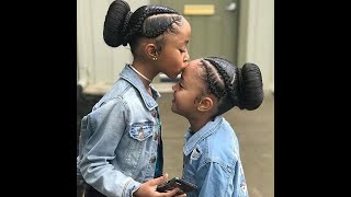 ❤️❤️ New Kids Braids Hairstyles Compilation 2020 ||  Beautiful & Gorgeous ❤️❤️