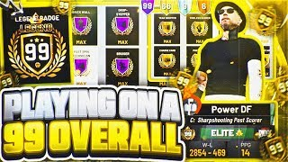 I USED A 99 OVERALL & I WAS UNSTOPPABLE! *INSANE* BEST ARCHETYPE BUILD IN NBA 2K19! (MUST WATCH)