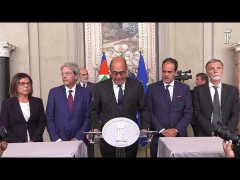CONSULTAZIONI GRUPPO PARLAMENTARE PARTITO DEMOCRATICO