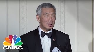Singapore's Leader Is Making Some Candid Comments On Its US Relations: Bottom Line | CNBC