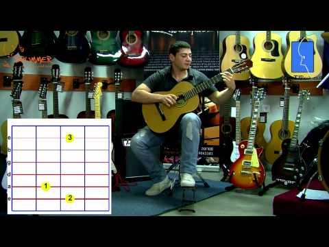 לימוד גיטרה – אקורדים 1