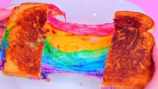 Bread butter cheese and rainbows Dont forget to do some shopping for