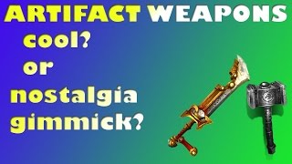 ARTIFACT WEAPONS, cool or just trash?