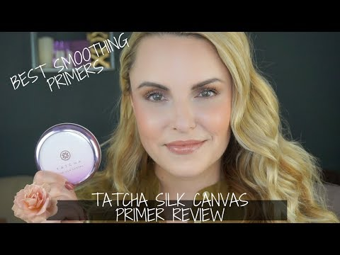NEW Tatcha Silk Canvas Primer REVIEW + Fav Blurring Primers – Elle Leary Artistry