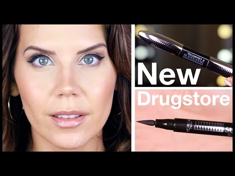 L'OREAL SUPERSTAR Mascara & Eyeliner | FIRST IMPRESSIONS