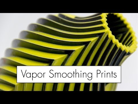 Super Smooth Prints // Acetone Vapor Bath