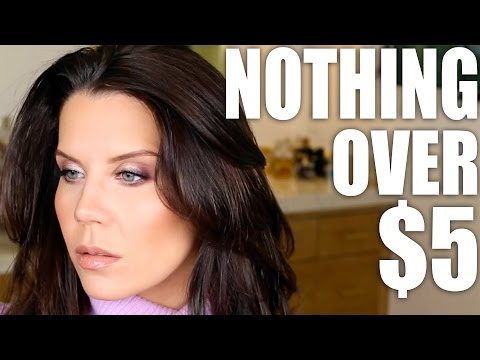 NOTHING OVER $5 | Drugstore Makeup