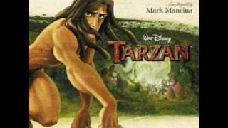 Tarzan Soundtrack- Two Worlds (Movie Version)