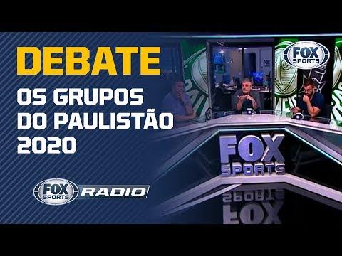 QUAL GIGANTE TEM O CAMINHO MAIS DIFÍCIL NO PAULISTÃO 2020? Veja o debate no 'FOX Sports Rádio'