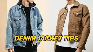 How To | Wear Denim Jackets (Streetwear & Casual)