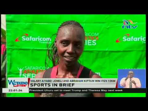 Valary Jemeli and Abraham Kiptum win Iten 10km races