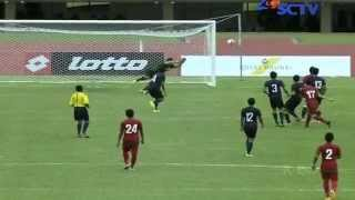 INDONESIA U19 60 Singapore U21 Hassanal Bolkiah Trophy Full Highlights 18/8/2014