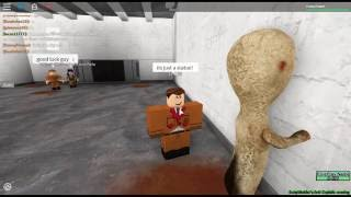 Roblox SCP-173 Test and SCP-035 Test (Name - Site 61)